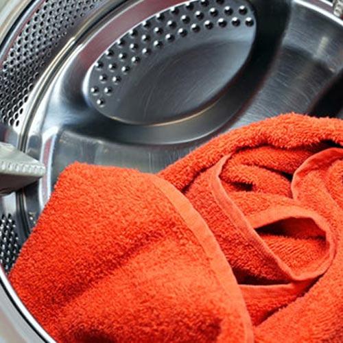 Bountiful — Orange Towel Inside a Dryer in Bountiful, UT