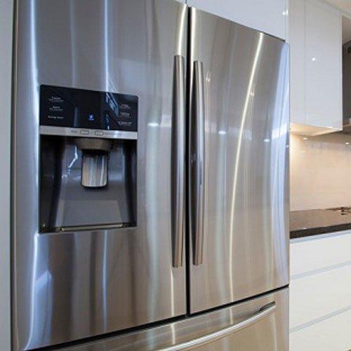 Appliance Repair — Elegant Refrigerator in Kitchen in Bountiful, UT