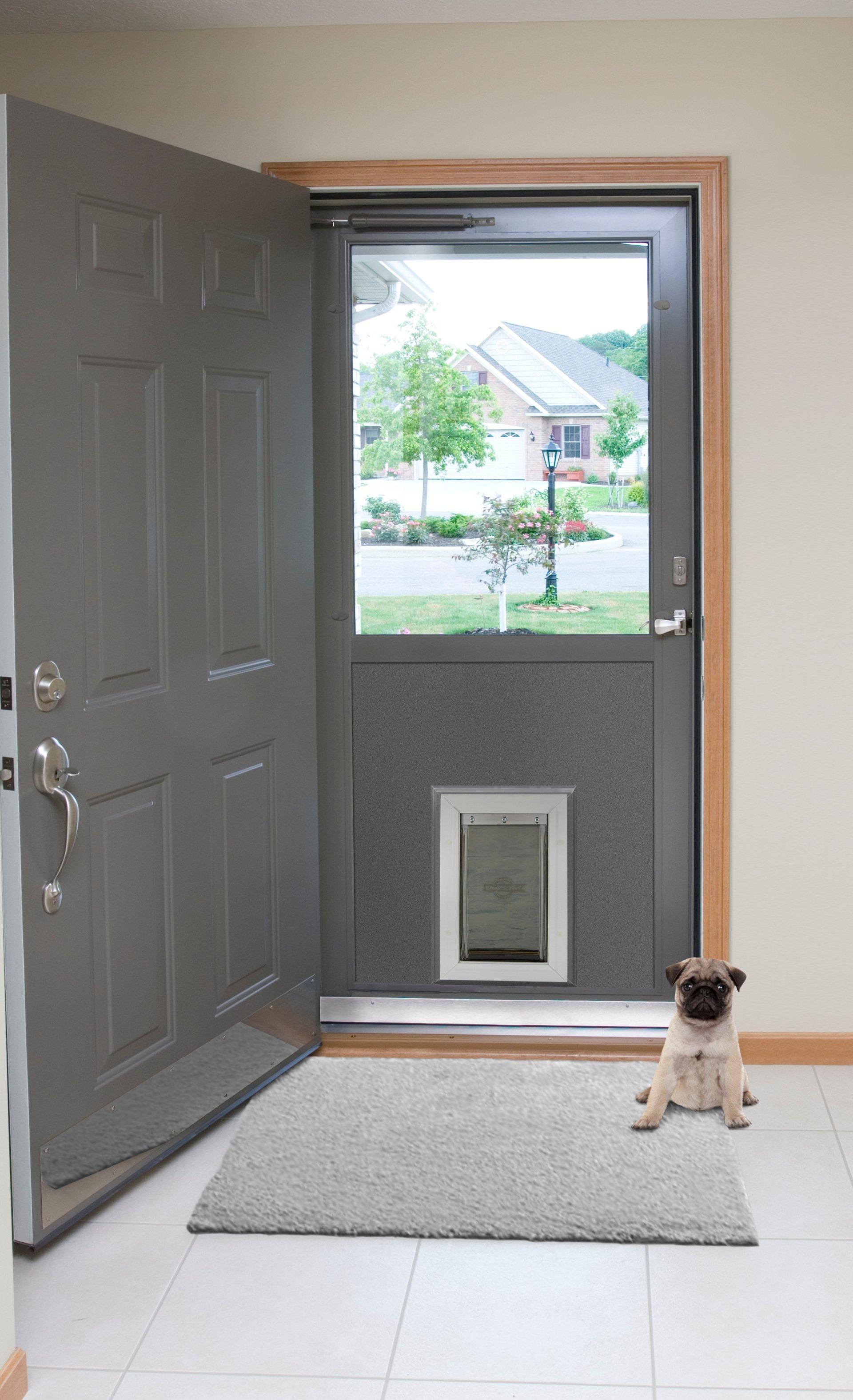 Dog in the door — Door & insulation service