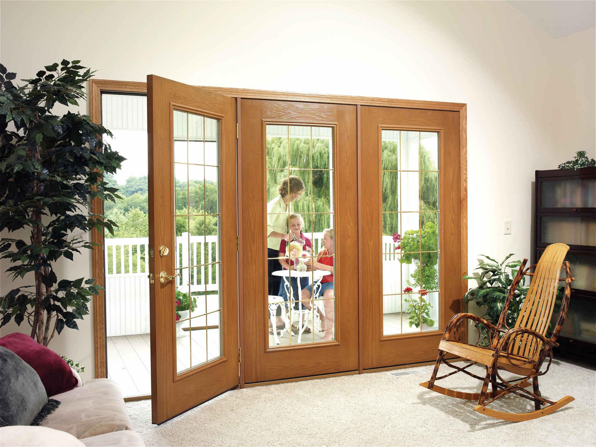 Door and a rocking chair — Door & insulation service