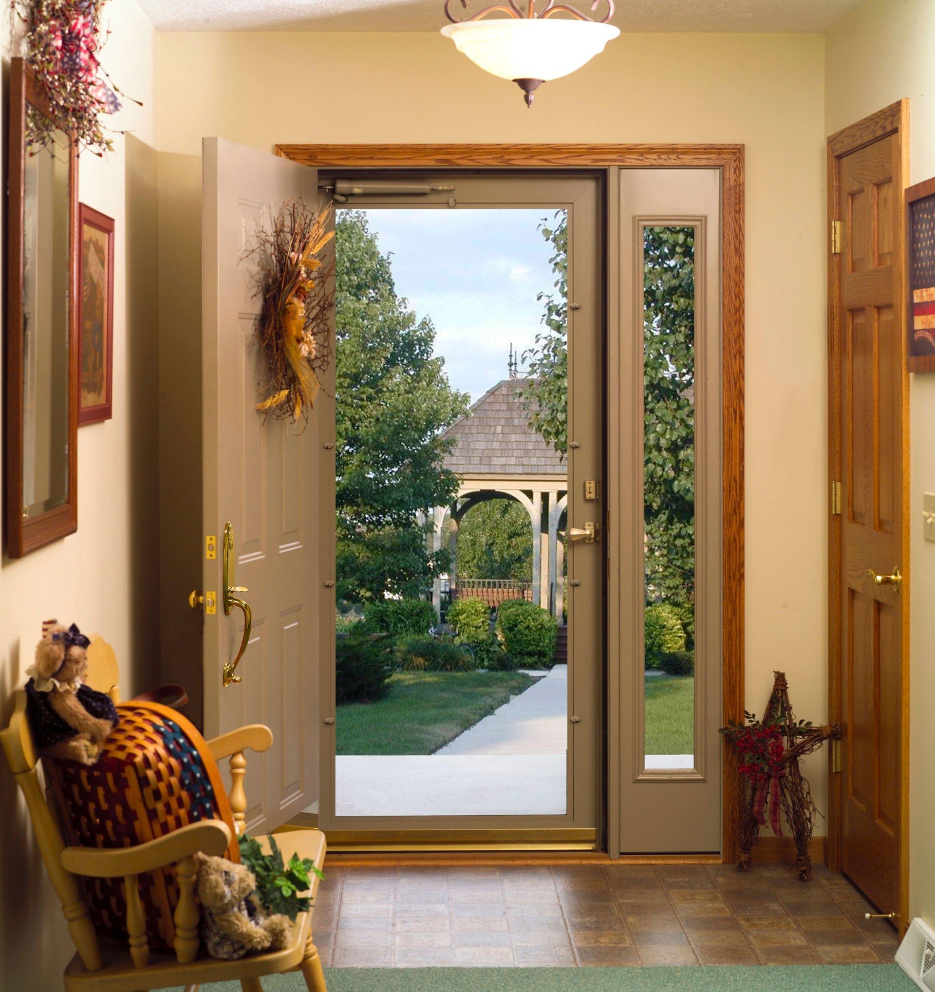 Open front door — Door & insulation service