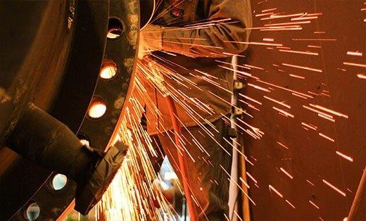 Grinding — Fabrication in Galveston, Tx