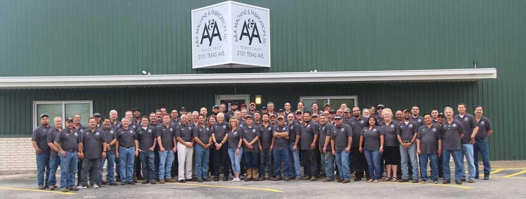 Staff — Fabrication in Galveston, Tx