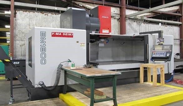 Machine & Fabrication — Yama Seiki BM 1800 in La Marque, TX