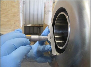 Measuring Vessel Opening — Fabrication in Galveston, Tx