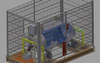Cylinder Roller — Fabrication in Galveston, Tx