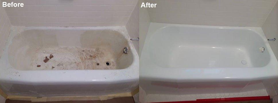 Re-glazed Bathtub - Glass Fabrication - Moreno Valley, California