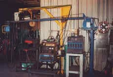 Welding Equipments Inside Construction Site — Welding Repairs in North Pekin, IL