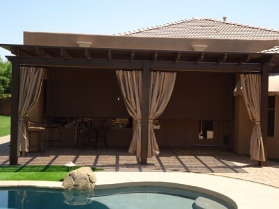 Patio Drop Curtain Gallery Chandler Screen Amp Awning
