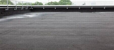 Flat Roof — Commercial Roofing Services in Plano, TX