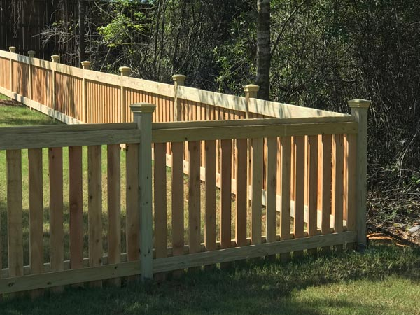 Residential Fence Contractor Fairhope Al Cooper Fence