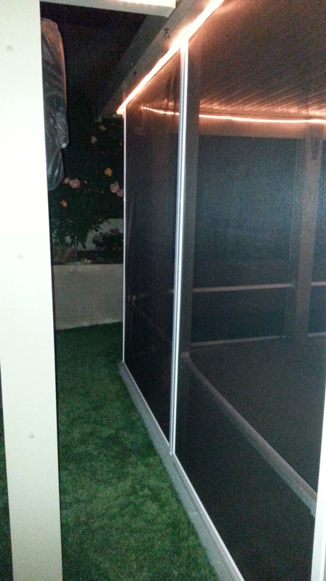 Complete Screen Patio Enclosure   Glass Fabrication   Moreno Valley, ...