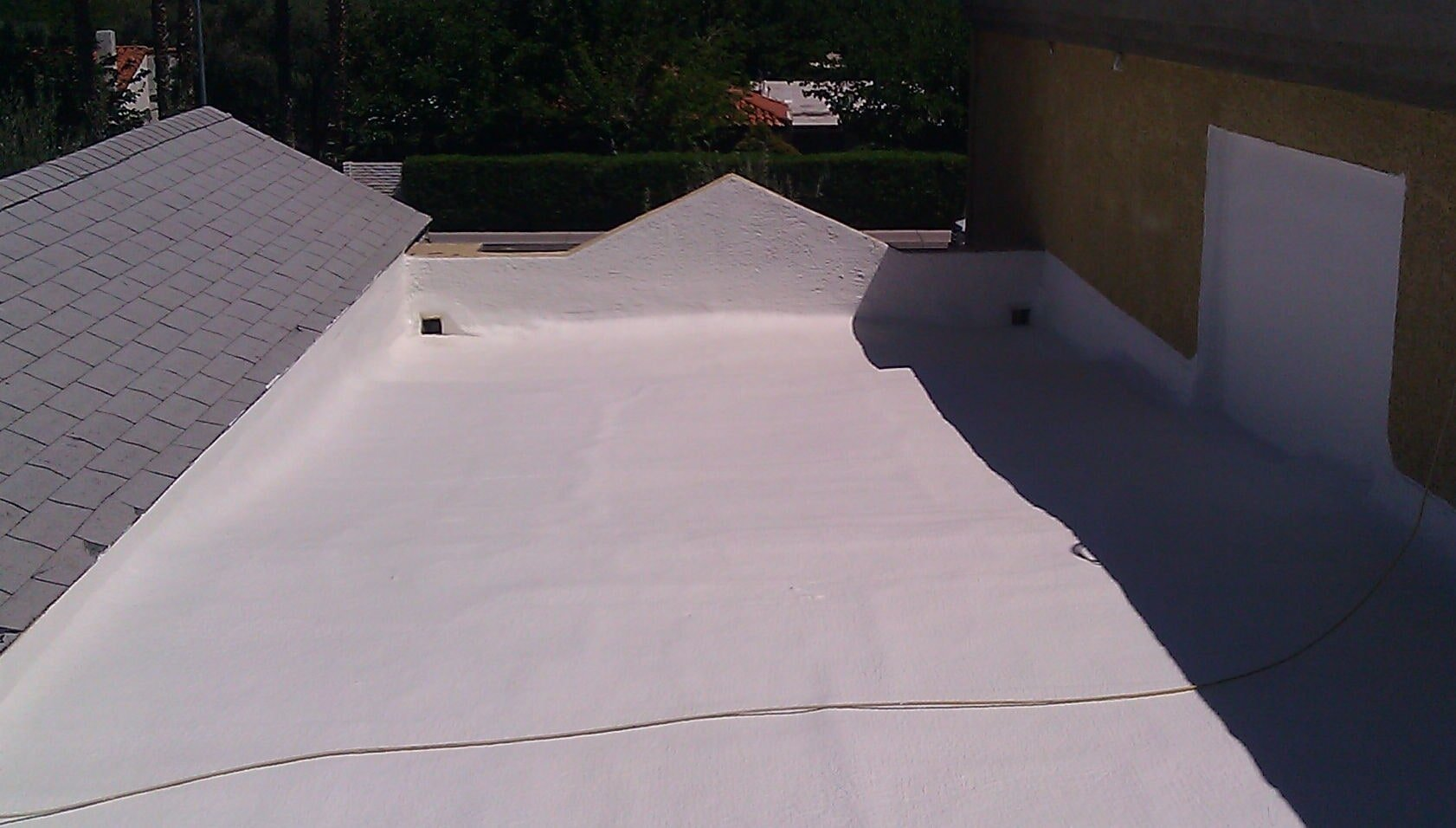 Foam Roofing Coating Amp Restoration Las Vegas Nv Mac