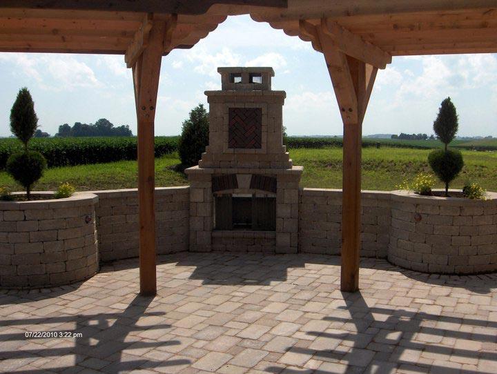 Beautiful Landscape bricking installed in Mapleton, IL - Beal Landscaping - Unsurpassed Landscaping Services – Mapleton, IL - Beal Landscaping