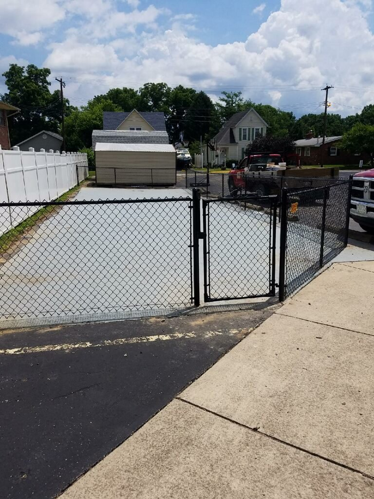 Commercial Colored Chain Link Fencing Ohio West