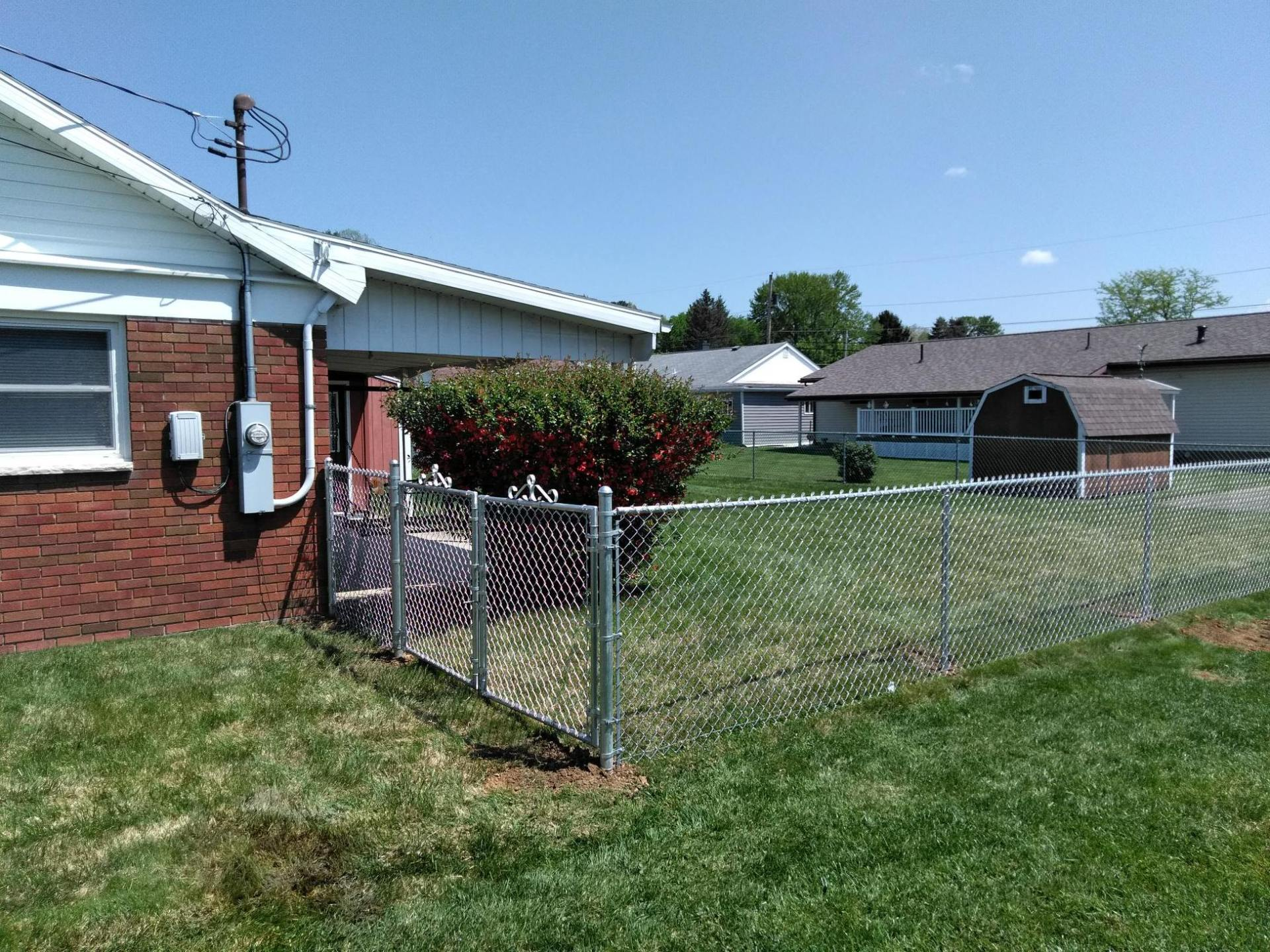 Commercial Chain Link Fencing Ohio West Virginia And
