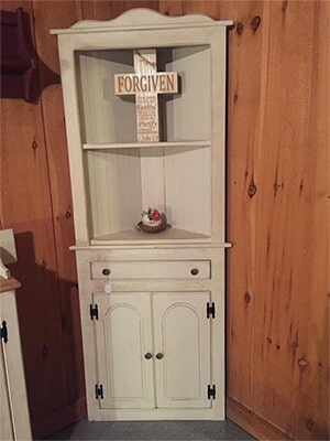 White Wooden Cabinet U2014 Hand Made Furniture In Portland, TN