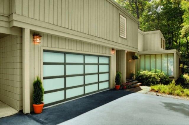 Light Green Garage Door U2014 Garage Doors In Albuquerque, NM