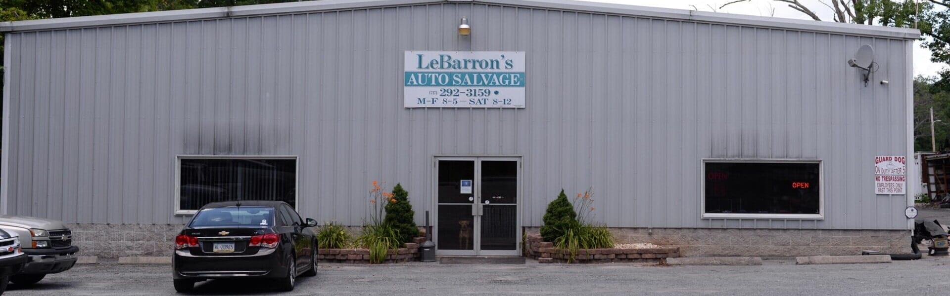 Carlisle Auto Salvage >> New and Used Auto Parts - Dover, Pennsylvania - Lebarron's Auto Salvage