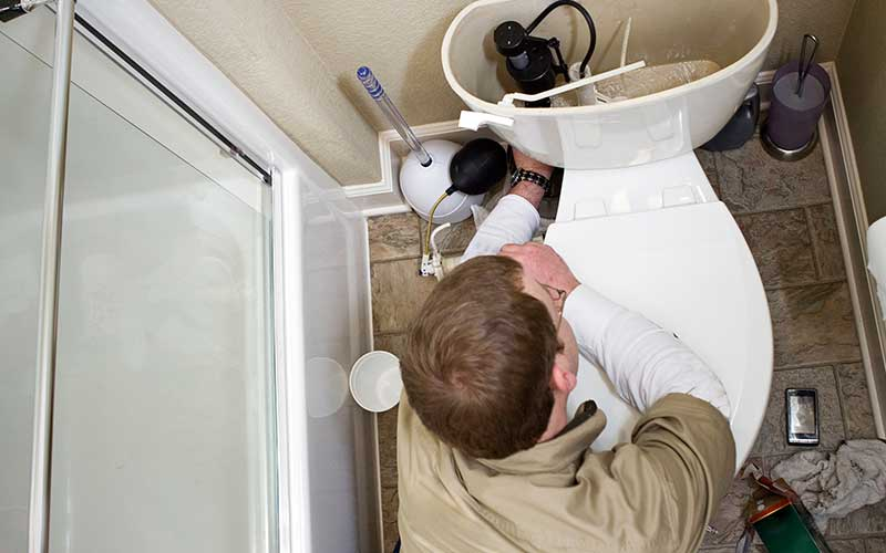 What Causes A Toilet To Flush On Its Own