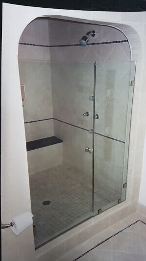 Shower Enclosures Shower Doors Acton MA C D Glass Company Inc - Bathroom shower glass replacement