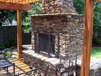 Patio Fireplace U2014 Chimney Service In Memphis, TN