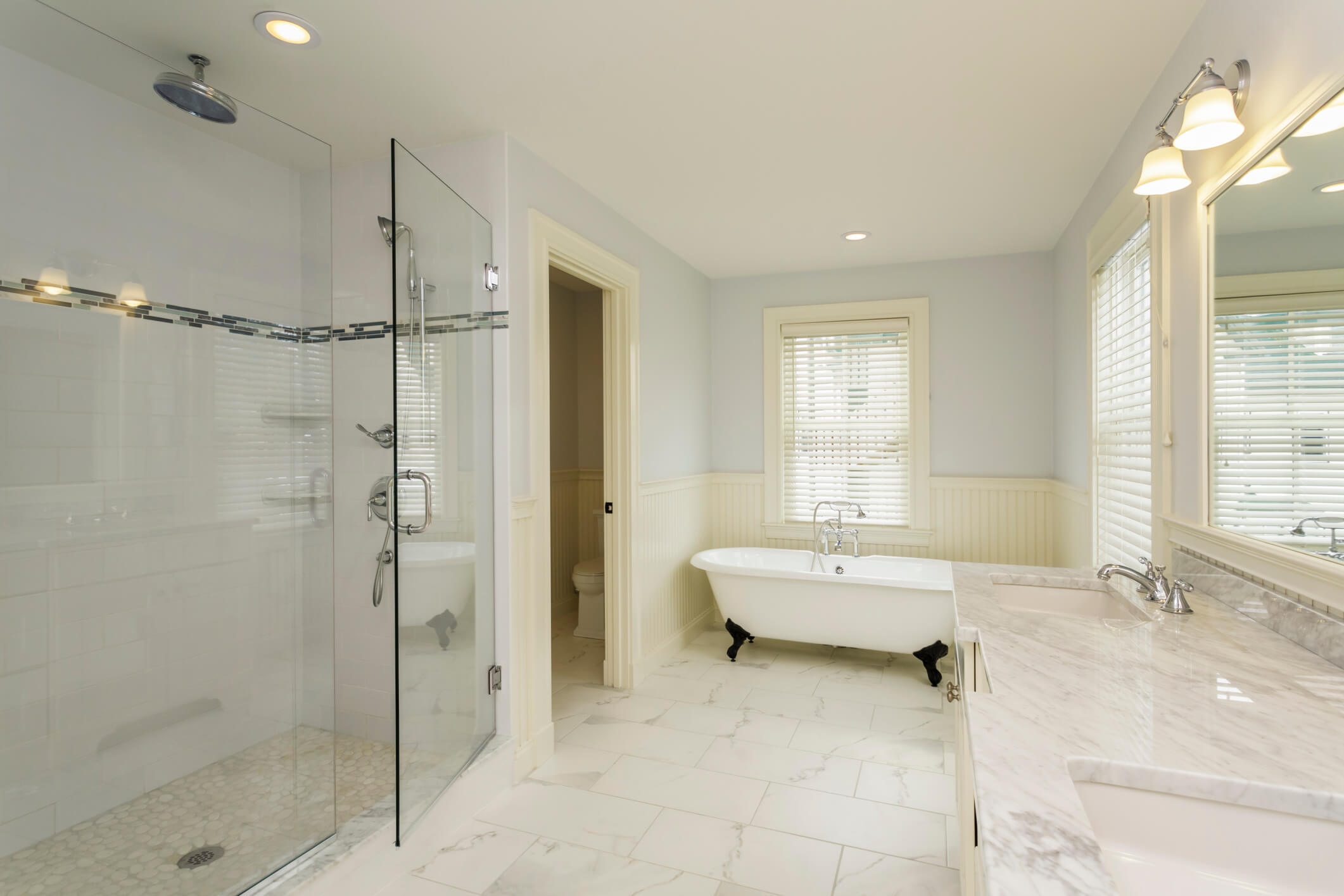 Custom Glass Services Williston VT Chittenden County Glass - Bathroom shower glass replacement