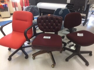 Red Office Chairs | Blueprint Supplies | Bristol, Va