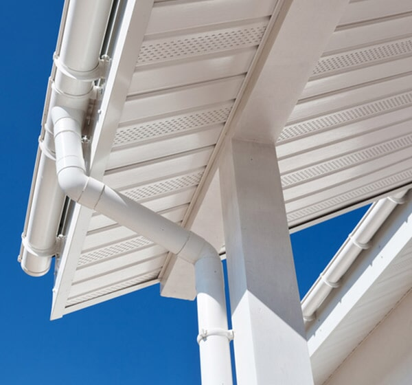 Gutter Covers — Home Gutter and Blue Sky in Delavan, WI