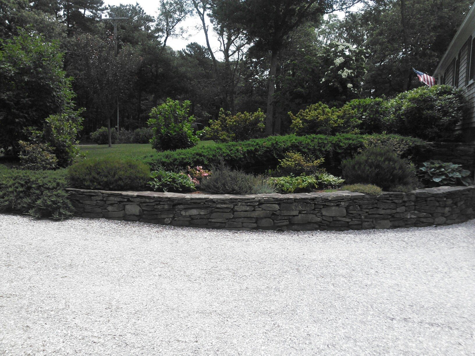Stone Walls Retaining Walls More Cape Cod Starboard Side