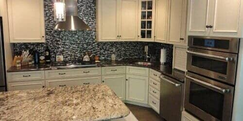 White Floor Cabinet U2014 General Contractor Hamilton NJ