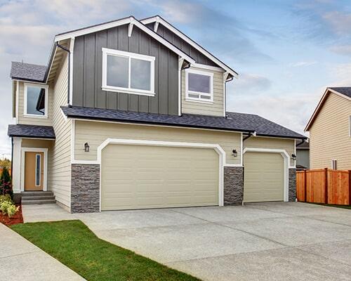 Charmant House Exterior With Two Garage Spaces U2014 Garage Door Sales In Colorado  Springs, CO