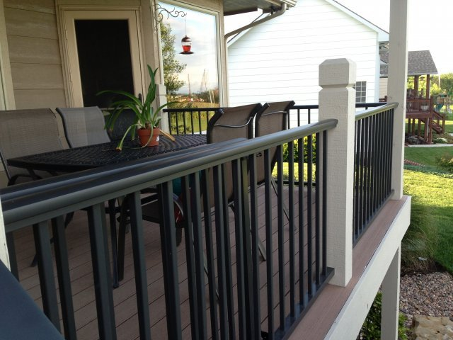 Iron Hand Railing Wichita Ks Stephens Fence