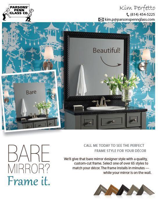 Mirror Installation | Erie, PA | Parsons Penn Glass Company