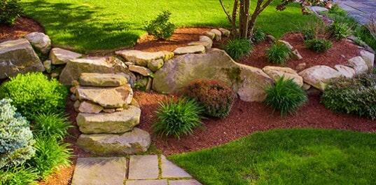 Landscaping Installation - Landscape in Wichita, KS - Lawncare And Landscaping Wichita, KS A & B Lawn Service