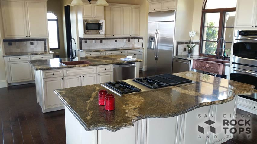 Natural Stone Kitchen Countertops   Custom Countertops In San Diego CA
