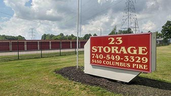 Company Sign u2014 self-storage units in Lewis Center OH & Self Storage - Lewis Center Ohio - US 23 Self Storage
