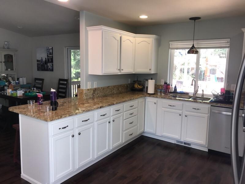 Kitchen And Bath Cabinets Tacoma Wa All Painting Llc