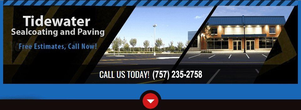 bc8369ecae53a Need your driveway repaved  Parking lot restriped  A new sidewalk   Tidewater Sealcoating and Paving offers professional paving and seal  coating services for ...