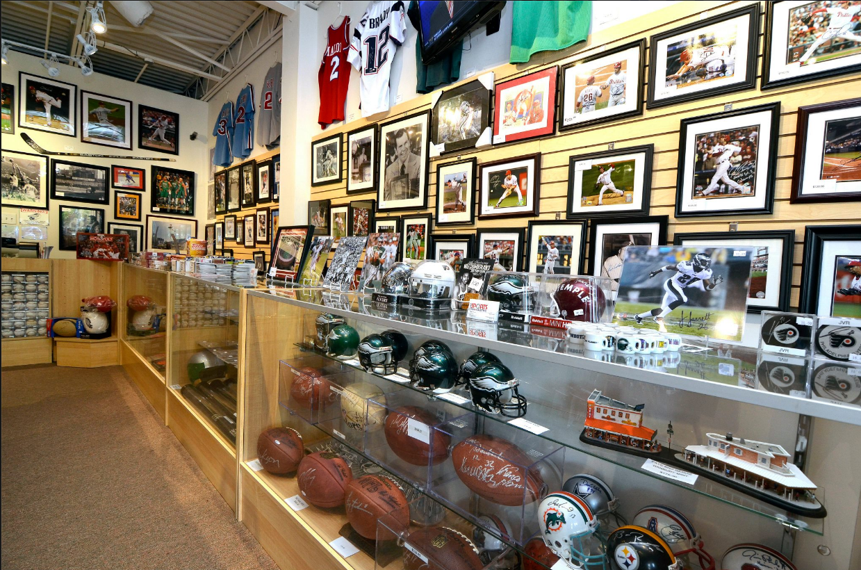 Sports Memorabilia Trading Card Store Voorhees Nj Evan S Sports Cards Collectibles