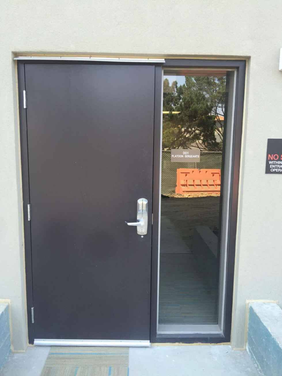 Brown Door - Commercial Door Contractors In Murietta CA & doorframeshardware - Murrieta CA - Temecula Valley Drywall Inc.