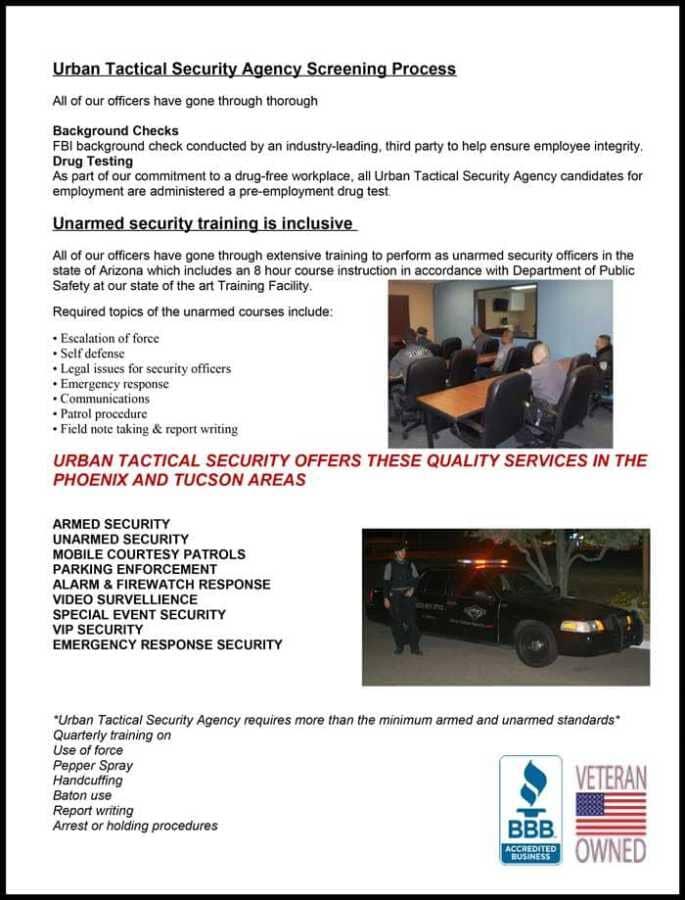 about-us - Phoenix, AZ - Urban Tactical Security