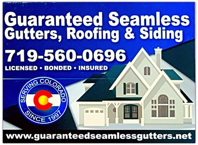 Exterior Repairs Pueblo Co Guaranteed Seamless Gutter