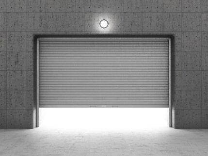 Garage Door Repair U2014 Grey Garage Door In Holly Hill, FL
