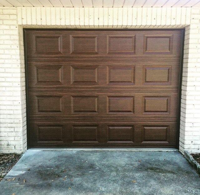 Garage Door U2014 A White Garage Door In Clearwater, FL