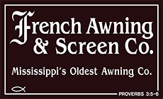 Awnings Screens Jackson Ms French Awning Screens Co