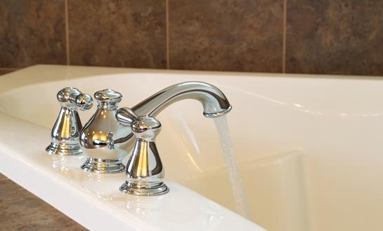 Restoration Bathtubs  New Chrome Faucet In Master Bath Tub In Western  Washington