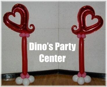 Decor philadelphia pa dinos party center balloon decorations heart shape balloon party decorationsin philadelphia pa junglespirit Gallery