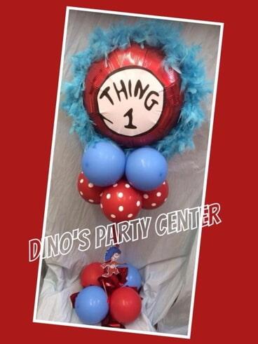 Centerpieces philadelphia pa dinos party center balloon 1 thing centerpiece party supplies in philadelphia pa junglespirit Gallery