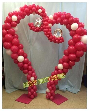 Sculptures philadelphia pa dinos party center balloon heart shape party decorationsin philadelphia pa junglespirit Gallery
